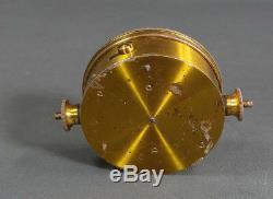 1900 Austrian Leopolder&Sohn Vienna Brass&Glass Needle Galvanometer Compass&Case