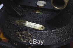 1940s antique brass surveyor's transit theodolite by Ottway of London