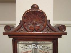 19th century stick barometer