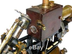 24' Rare Circa 1900 Huge T Cooke & Sons London York Antique Magnetometer Museum