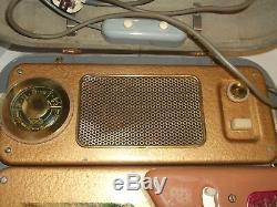 50er Jahre Tefifon Schallbandspieler im Koffer mit Radio und Lautsprecher 50s