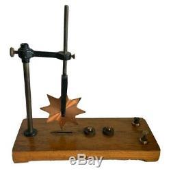 ANTIQUE GENUINE Philip Harris Brass BARLOWS WHEEL Vintage Scientific Instrument