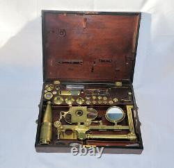 A large compound microscope Robert Banks, c. 1815