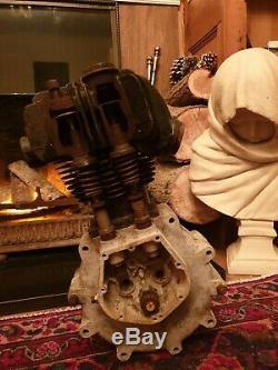 Ajs k9 Vintage Pre War 1920 s CutAway Motorcycle Engine matchless harley bsa