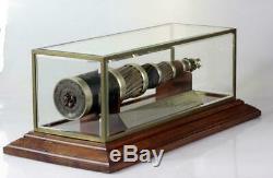 Amazing antique Italian large telegraph Cable display 1930 Belgium Portugal