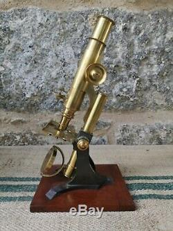 An Antique Microscope by Baker London