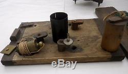 Ancien théodolite, niveau SECRETAN PARIS antique surveying géomètre arpenteur