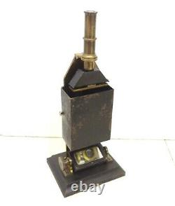 Antique 1870 Duboscq Paris Microscope Colorimeter Complete Scientific Instrument