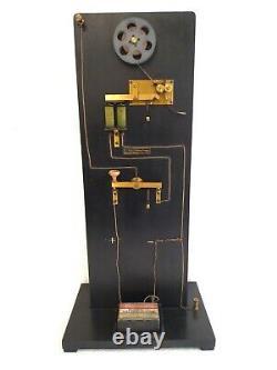 Antique 1900 Leybolds Nachfolger Morse Telegraph Scheme Working Demo Circuit