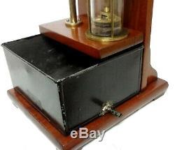 Antique 1900 Rare Ducretet Paris Hand Water Pump Visible Demo Model Hydraulic