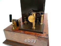 Antique 1910 Large & Rare Leybolds Nachfolger German Ruhmkorff Induction Coil