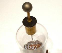 Antique 19th Large Electroscope Electrostatic Experimental Device Lab Demo