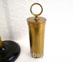 Antique 19th Rare Set 3 Lab Electrostatic Experimental Sphere Cylinder & More