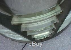 Antique 4th Order 200 Lbs. Lighthouse Fresnel Lens Aga Rare Maritime Nautical