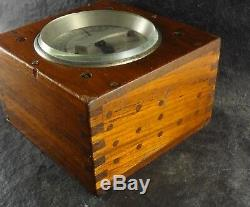 Antique Ammeter 1870 Henleys Military Portable Telegraph Galvanometer London See
