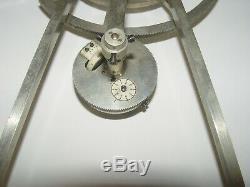 Antique Amsler Integrator Ship Building Scientific Instrument Ruckert Architect
