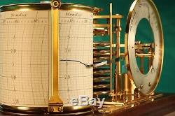 Antique Barograph and Barometer by SHORT & MASON No 9204 c1920