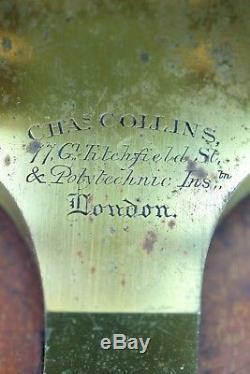 Antique Binocular Microscope by Charles Collins, London, circa 1870