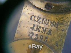 Antique Brass Microscope Carl Zeiss