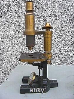 Antique Brass Microscope Spencer Buffalo