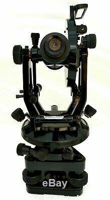 Antique Brass Theodolite-Transit Surveyors Alidade Vintage Surveying Instruments
