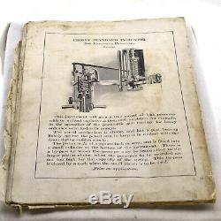 Antique CROSBY Steam Engine Pressure Indicator in Wooden Case