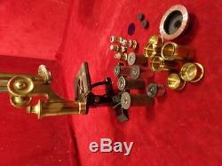 Antique C. Reichert Wien Microscope