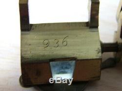 Antique Camera Lucida, Scientific Drawing Instrument. Brass Mounted, Original Ca