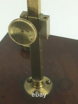 Antique Cary-Gould type Microscope