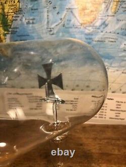 Antique Cathode Ray Tube Scientific Instrument French 1920 Crooks Maltese Cross