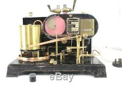 Antique Curnon Barograph Steam Flow Meter Sl2432