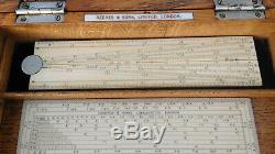 Antique Drawing Instruments/Drawing Set/Rulers Reeves and Sons Ltd Very Fine