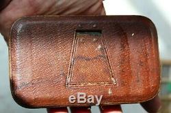 Antique Edwardian Cased Pocket Barometer/thermometer/compass Compendium