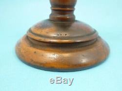 Antique Emil Gundelach Crookes Mineral Vacuum Tube Wood Stand 5 3/4W Scientific