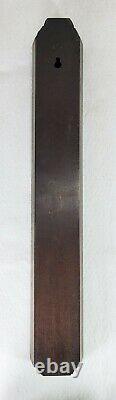 Antique English England London Stick Thermometer Walnut ANDREW YATES