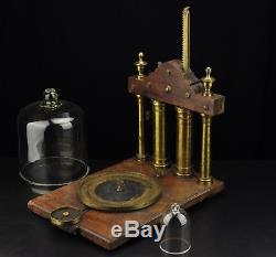 Antique German19th c. Vacuum Air Pump -H. Christeinicke & Co, Hamburg