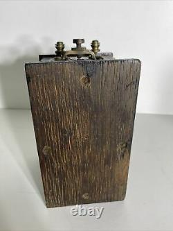 Antique Hornet Induction Coil Spark Generator by Beckly Ralson Chicago Type 20-B