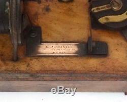 Antique Huge 1880 Eugene Ducretet Ruhmkorff Induction Coil X Ray Tesla Medical