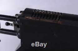 Antique Large Swedish Mechanical Pin-wheel Calculator Original-odhner Model 27