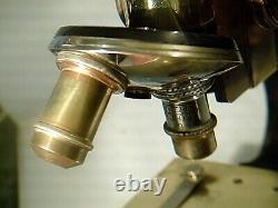 Antique Leitz Microscope Brass