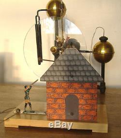 Antique Meiser & Mertig Franklin Electricity Experiments Demonstration Toy 1895