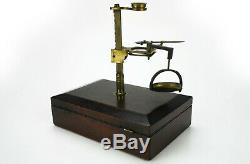 Antique Microscope Cary Gould type c1830