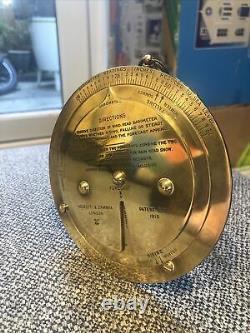 Antique Negretti & Zambra Weather Forecaster Beautiful Condition