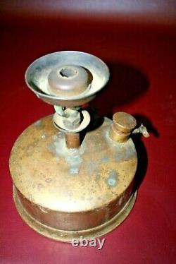 Antique Novy Formaldehyde Generator Brass Burner Stove Medical Sterilizer Device