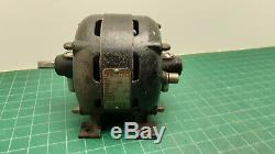 Antique Original GE Open Face Electric Motor 120V AC 1/6HP WORKS! Gorgeous