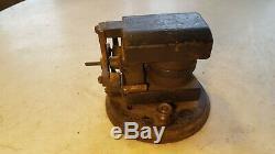 Antique Patent 1899 Electric Motor Bi Polar Cast Iron Base ODDO-Toy Fan Project