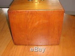 Antique Pine Microscope Slide Cabinet for 1008 Slides