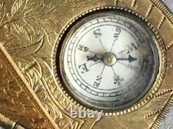 Antique Pocket Sundial