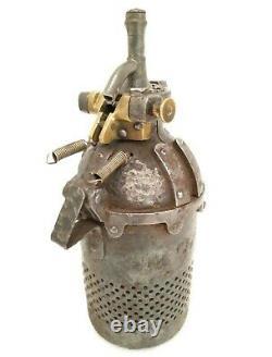 Antique & Rarest Soda Syphon Bottle Primitive Tester Pressure Measuring Armor