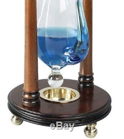 Antique Replica KING GEORGE III Barometer Instrument Tabletop 13 Weather Glass